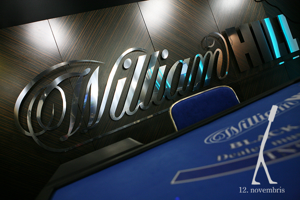 WILLIAM HILL logo -foto: Līga Alksne
